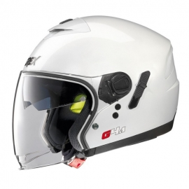 Moto helma Grex G4.1 Kinetic Metal White 4