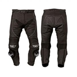 Kožené moto kalhoty Berik LP-10642-BK, černé