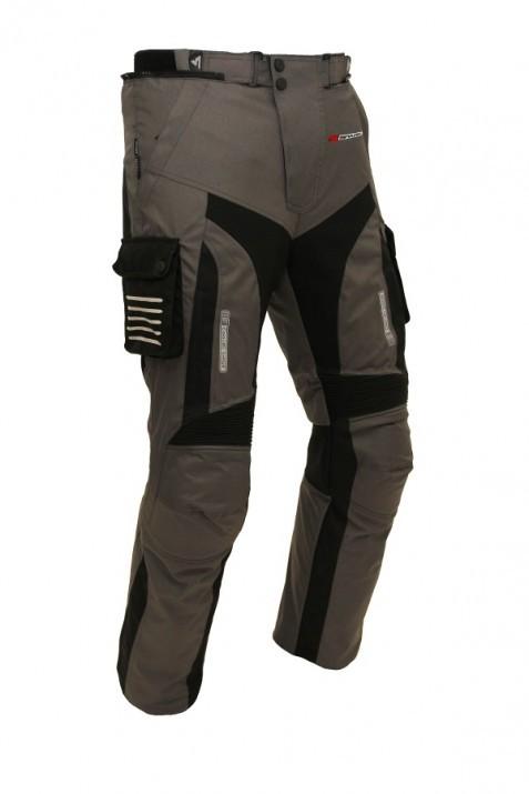 Pánské textilní moto kalhoty SPARK GT TURISMO, tmavá