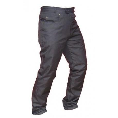 Pánské džínové moto kalhoty SPARK JEANS, černé