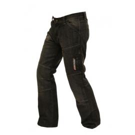 Pánské džínové moto kalhoty SPARK METRO, černé
