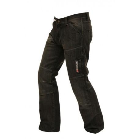 Pánské textilní moto kevlar kalhoty Spark Metro, černé