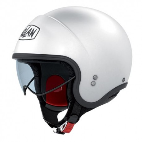 Moto helma Nolan N21 Classic Metal White 5