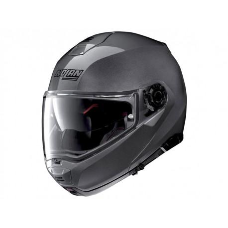 Moto helma Nolan N100-5 Classic N-Com Lava Grey 4