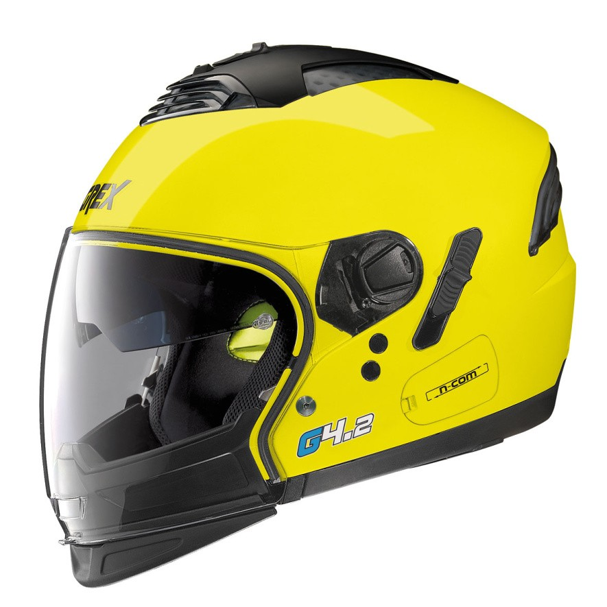 Moto helma Grex G4.2 PRO Kinetic N-Com Led Yellow 26