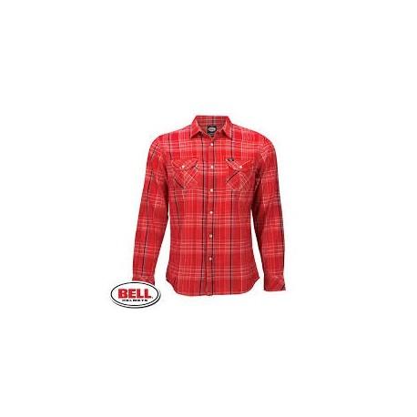 Pánská košile Bell Woven Nelson, Red