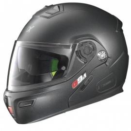 Moto helma Grex G9.1 Evolve Kinetic N-Com Black Graphite 25
