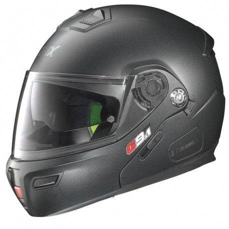 Moto helma Grex G9.1 Evolve Kinetic N-Com Black Graphite 25