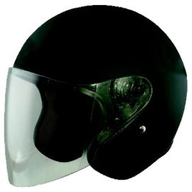 Moto helma Cyber U-13, černá matná