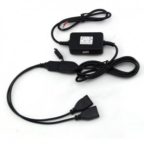 LX-UPC02 USB nabíječka na motocykl s dvojím rozhraním