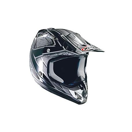 Moto helma Xpeed XF 904 stříbrná - 2XL