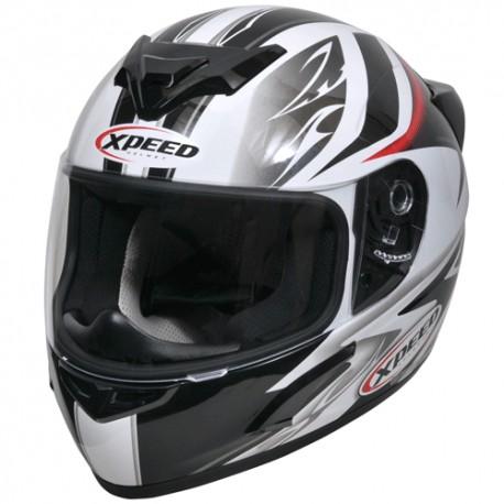 Moto helma Xpeed XP 509 červená - 2XL