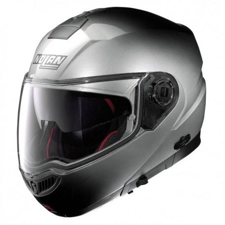 Moto helma Nolan N104 Absolute Fade N-Com Fade Silver 61