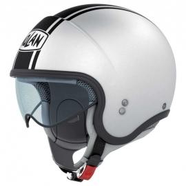 Moto helma Nolan N21 Caribe Metal White 19