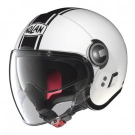 Moto helma Nolan N21 Visor Duetto Glossy White 14