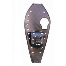 Kožený pás TechStar s brašnou na nádrž Yamaha XV 535 Virago