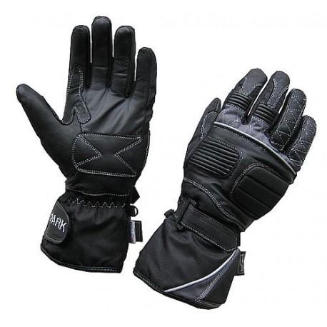 Pánské textilní moto rukavice Spark Cisco, černé