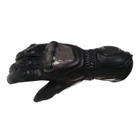 Pánské kožené moto rukavice Spark GP Tec, černé