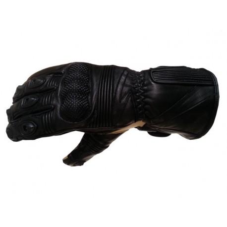 Pánské kožené moto rukavice Spark Modena, černé