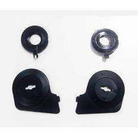 Nolan mechanismus hledí Flat Black J1