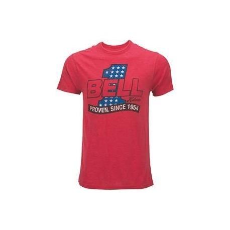 Pánské tričko Bell Red Heather, Red