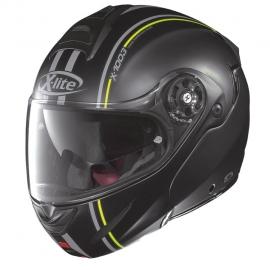 Moto helma X-Lite X-1003 Millstatt N-Com Flat Black 14