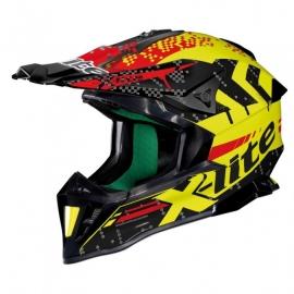 Moto helma X-Lite X-502 Nac-Nac Led Yellow 12