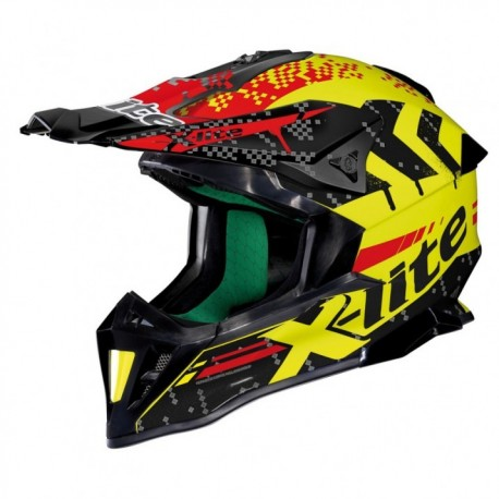 Moto helma X-Lite X-502 Nac-Nac Led Yellow 12