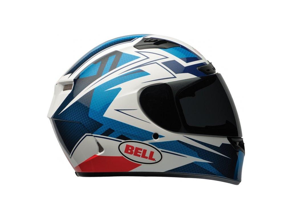 Moto helma Bell Qualifier DLX Clutch Blue