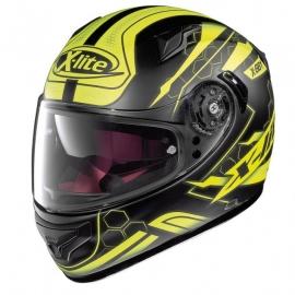 Moto helma X-Lite X-661 Honeycomb N-Com Flat Black 32 - L