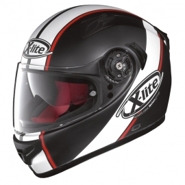 Moto helma X-lite X-661 Vinty N-Com Flat Black 22