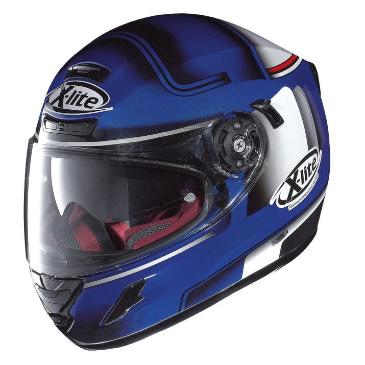 Moto helma X-Lite X-702 GT Openpass N-Com Cayman Blue 43