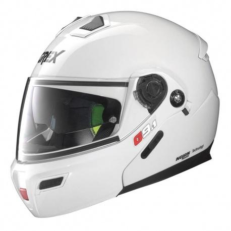 Moto helma Grex G9.1 Evolve Kinetic N-Com Metal White 24