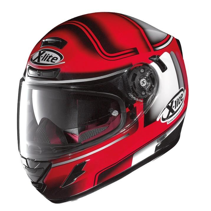 Moto helma X-Lite X-702 GT Openpass N-Com Corsa Red 44
