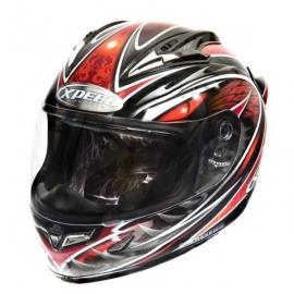 Moto helma Xpeed XF 706 Phoenix, červená