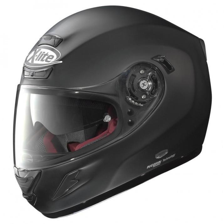 Moto helma X-Lite X-702 GT Start N-Com Flat Black 4
