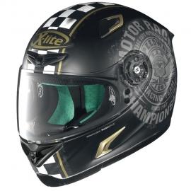 Moto helma X-Lite X-802RR Cafe Club Flat Black 96