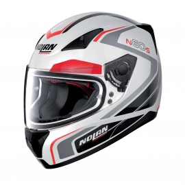 Moto helma Nolan N60-5 Practice Metal White 19