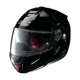 Moto helma Nolan N90-2 Classic N-Com Glossy Black 3