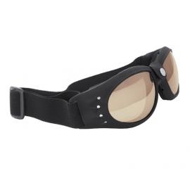 Motocyklové brýle Held, kouřové, černý rám