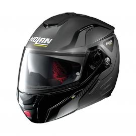 Moto helma Nolan N90-2 Straton N-Com Flat Lava Grey 20