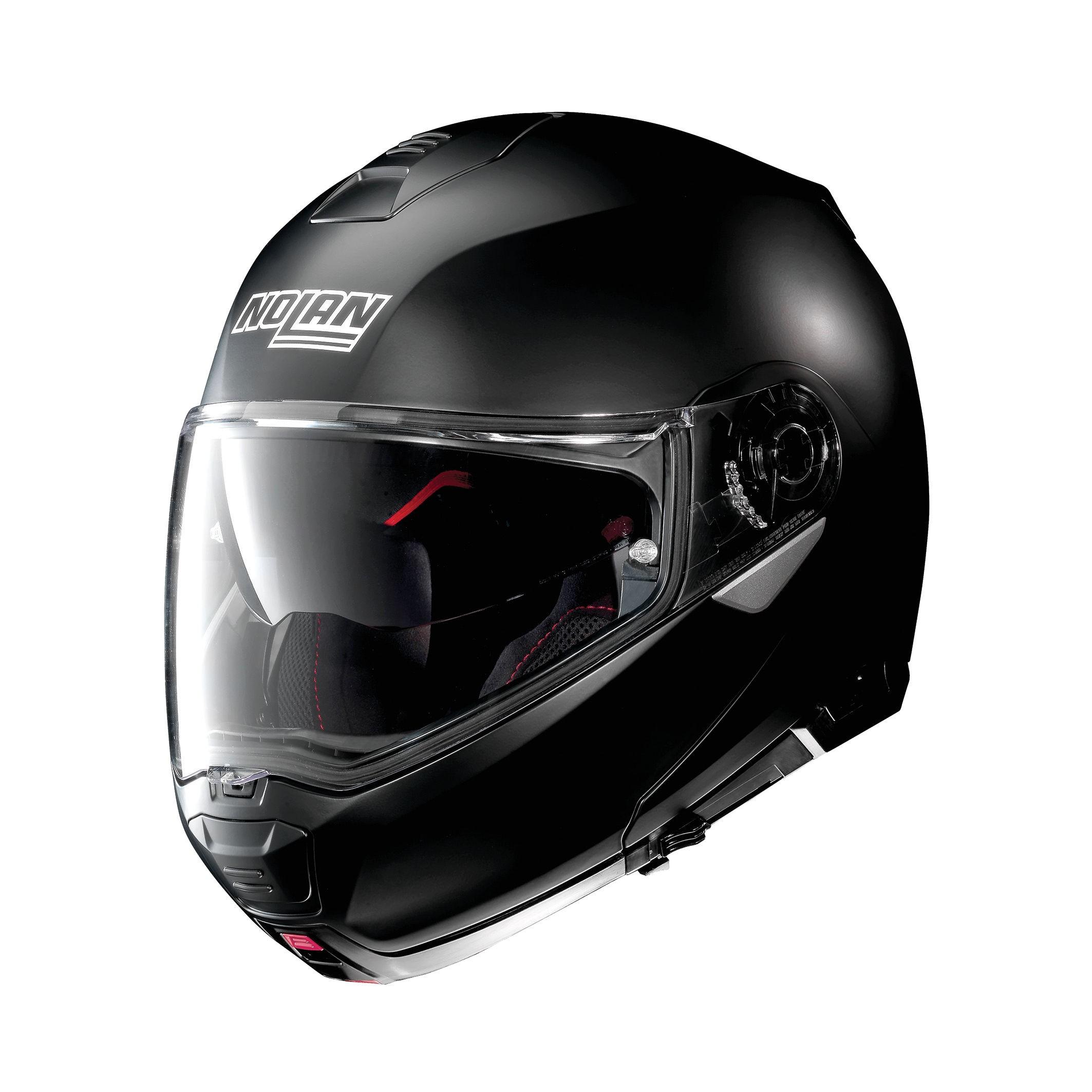 Moto helma Nolan N100-5 Classic N-Com Flat Black 10