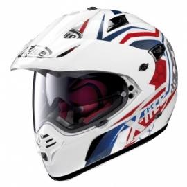 Moto helma X-Lite X-551 GT Kalahari N-Com Metal White 29