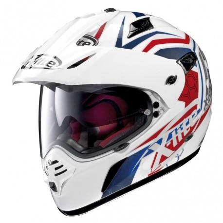 Moto helma X-Lite X-551 GT Kalahari N-Com Metal White 29 - L