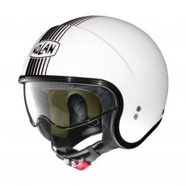 Moto helma Nolan N21 Joie De Vivre Metal White 63 - XL