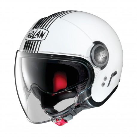Moto helma Nolan N21 Visor Joie De Vivre Metal White 41 - M