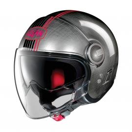 Moto helma Nolan N21 Visor Joie De Vivre Scratched Chrome 44