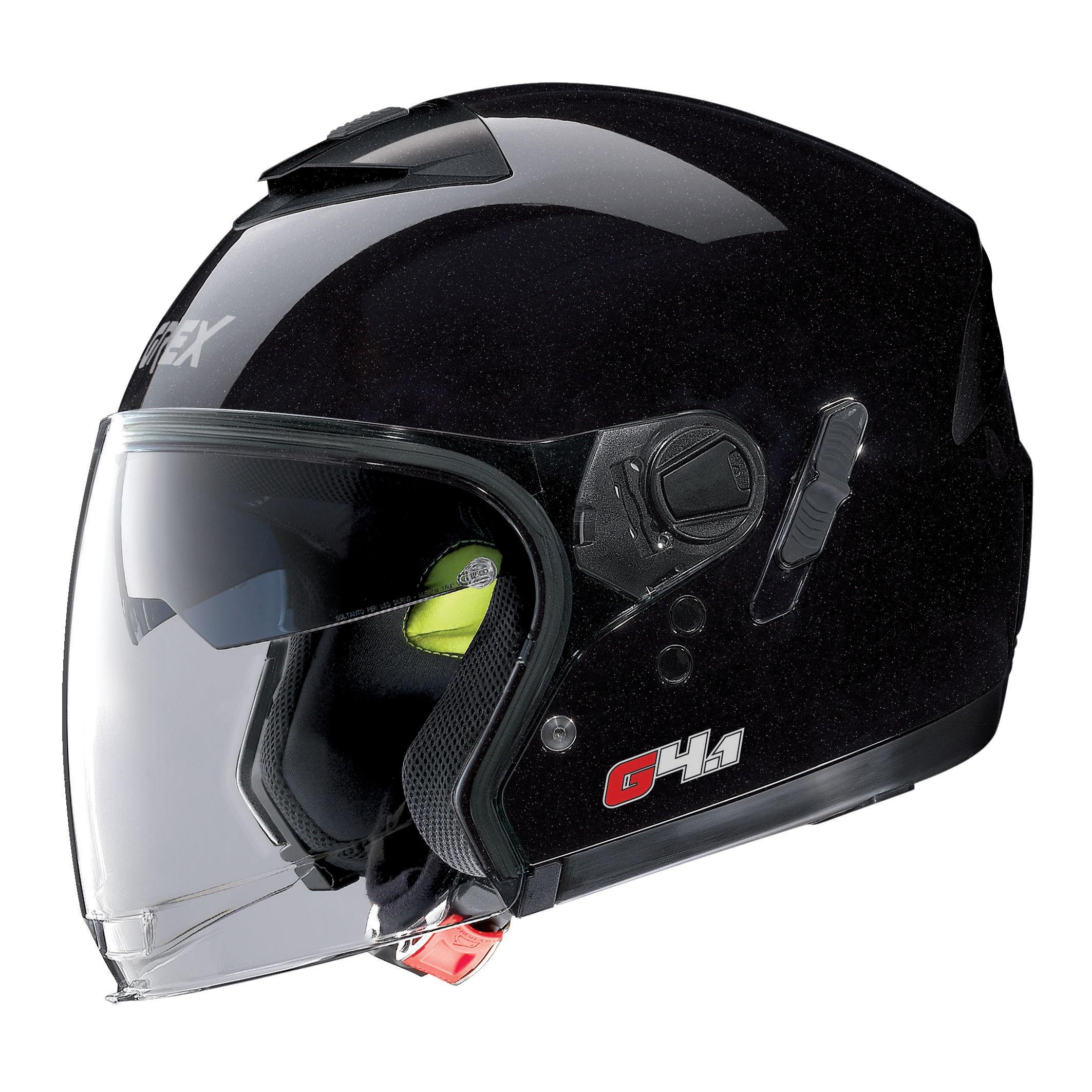 Moto helma Grex G4.1 Kinetic Metal Black 1
