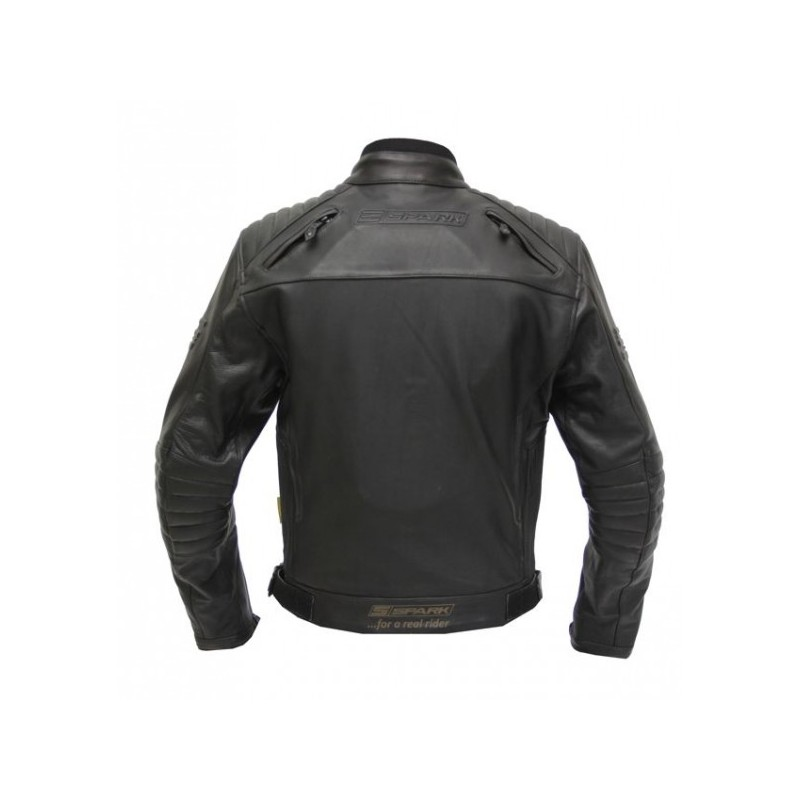 ... Dámská kožená moto bunda SPARK Brono ef6f3b72637