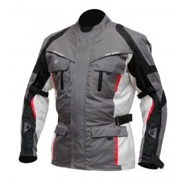 Pánská textilní moto bunda Cyber Gear Tour Long, šedá